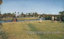 spo013390 - Water Hole, Ponte Vedra Beach, FL USA Golf, Golfing Postcard Post Card Old Vintage Antique