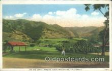 spo013392 - Linen, On The Links Avalon, Catalina Island, CA USA Golf, Golfing Postcard Post Card Old Vintage Antique