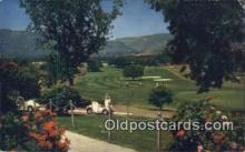 spo013394 - Valley Inn And Country Club, Ojai, CA USA Golf, Golfing Postcard Post Card Old Vintage Antique