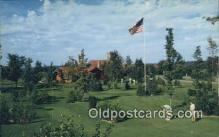 spo013395 - Hidden Valle, Gaylord, MI USA Golf, Golfing Postcard Post Card Old Vintage Antique