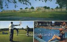 spo013405 - Ingleside Motel And Sky View Restaurant, Staunton, VA USA Golf, Golfing Postcard Post Card Old Vintage Antique