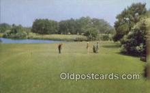 spo013412 - Sea Island Golf Course, Retreat Plantation, GA USA Golf, Golfing Postcard Post Card Old Vintage Antique