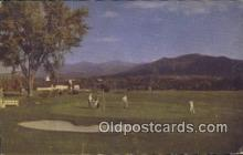 spo013413 - Mountain View House, Whitefield, NH USA Golf, Golfing Postcard Post Card Old Vintage Antique