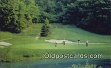 spo013414 - The Homestead, Hot Springs, VA USA Golf, Golfing Postcard Post Card Old Vintage Antique