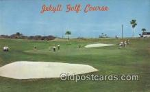 spo013420 - Jekyll Golf Course, Jekyll Island, GA USA Golf, Golfing Postcard Post Card Old Vintage Antique