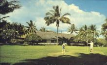 spo013435 - Hana Ranch Hotel, Hana, Maui, HI USA Golf, Golfing Postcard Post Card Old Vintage Antique