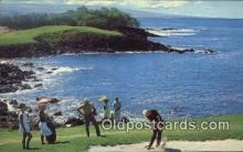 spo013436 - Mauna Keas 3rd Hole, Mauna Kea Beach Hotel, HI USA Golf, Golfing Postcard Post Card Old Vintage Antique