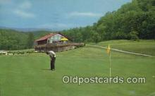 spo013441 - The Homestead, Hot Springs, VA USA Golf, Golfing Postcard Post Card Old Vintage Antique