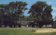 spo013442 - Club House At Ninth Green, Talbot Country Club On Road, Oxford, MD USA Golf, Golfing Postcard Post Card Old Vintage Antique