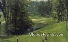 spo013446 - Golden Horseshoe Golf Course, Williamsburg, VA USA Golf, Golfing Postcard Post Card Old Vintage Antique