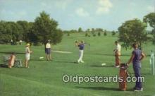 spo013449 - The Country Club Course, French Lick, IN USA Golf, Golfing Postcard Post Card Old Vintage Antique