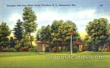 spo013504 - Thendara, New York, USA Golf Postcard Postcards