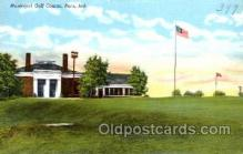 spo013505 - Puru, Indiana. Golf Postcard Postcards