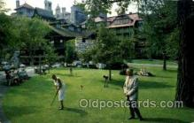 spo013506 - Lake Mohonk, Ulster County, New York, USA, Golf Postcard Postcards