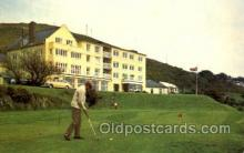 spo013517 - Trefeddian Hotel, Aberdovey, Merionethshire, Golf Course Postcard Postcards