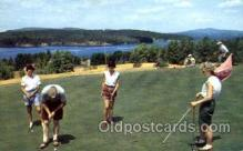 spo013520 - Golf Course at Tupper Lake, Adirondack State Park, New York,  Postcard Postcards