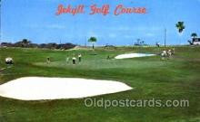 spo013523 - Jekyll Golf Course, Jekyll Island, Georga, USA Postcard Postcards