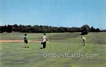 spo013527 - Golf Postcard