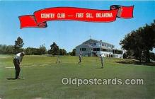 spo013536 - Golf Postcard