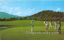 spo013542 - Golf Postcard