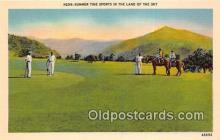 spo013569 - Golf Postcard