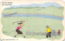 spo013570 - Golf Postcard