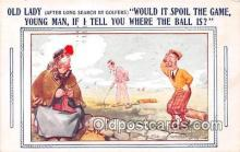 spo013577 - Golf Postcard