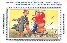 spo013580 - Golf Postcard