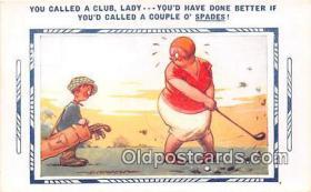 spo013581 - Golf Postcard