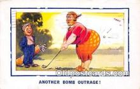 spo013582 - Golf Postcard