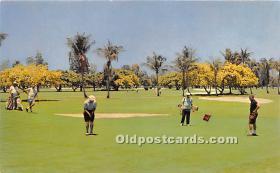 spo013593 - Old Vintage Golf Postcard Post Card