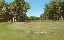 spo013595 - Old Vintage Golf Postcard Post Card