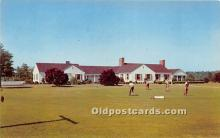 spo013597 - Old Vintage Golf Postcard Post Card