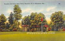 spo013598 - Old Vintage Golf Postcard Post Card