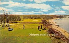 spo013601 - Old Vintage Golf Postcard Post Card