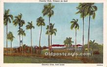 spo013603 - Old Vintage Golf Postcard Post Card