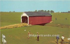 spo013606 - Old Vintage Golf Postcard Post Card
