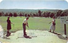 spo013607 - Old Vintage Golf Postcard Post Card