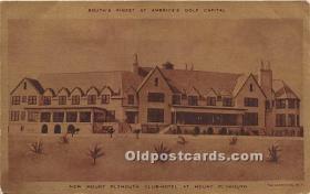 spo013612 - Old Vintage Golf Postcard Post Card