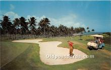 spo013613 - Old Vintage Golf Postcard Post Card