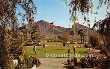 spo013614 - Old Vintage Golf Postcard Post Card