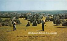 spo013615 - Old Vintage Golf Postcard Post Card