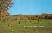 spo013619 - Old Vintage Golf Postcard Post Card