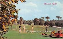 spo013620 - Old Vintage Golf Postcard Post Card