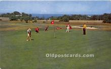 spo013623 - Old Vintage Golf Postcard Post Card