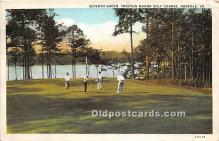 spo013627 - Old Vintage Golf Postcard Post Card