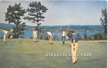 spo013629 - Old Vintage Golf Postcard Post Card