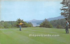 spo013632 - Old Vintage Golf Postcard Post Card