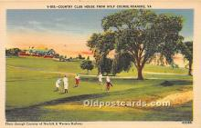 spo013636 - Old Vintage Golf Postcard Post Card