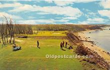 spo013637 - Old Vintage Golf Postcard Post Card